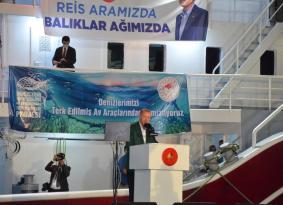 """Cumhurbaşkanı Erdoğan: """"Ağımızı denize atarken o denizde gelecek kuşakların da hakkı olduğunu asla unutmayacağız"""""""