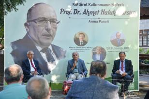 Prof. Dr. Ahmet Haluk Dursun memleketi Giresun'da anıldı