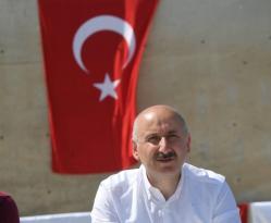 """Bakan Adil Karaismailoğlu: """" Giresun'da hayat devletin ve vatandaşın çabaları ile normale dönecek"""""""