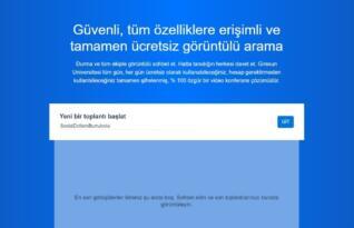 Giresun Üniversitesi, kendi geliştirdiği toplantı yazılımını kullanmaya başladı