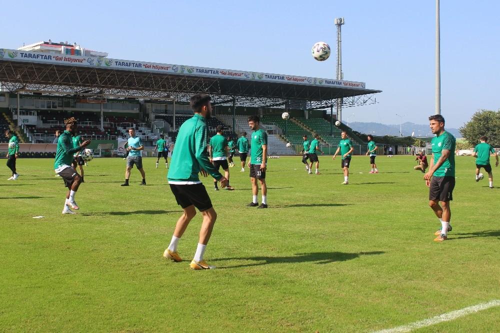 Giresunspor, Ankaraspor maçı hazırlıklarını sürdürdü