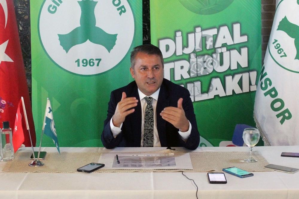 """Hakan Karaahmet: """"Giresunspor'un borcu 65 milyon TL'ye yaklaşmış durumda"""""""