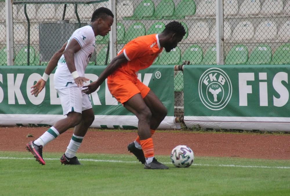 TFF 1. Lig: Giresunspor: 2 – Adanaspor: 0 (İlk yarı)